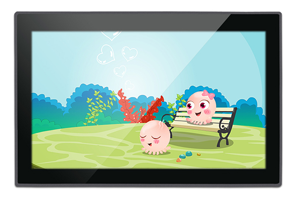 10.1 Inch Nul Bezel PCAP Touch Industrial Panel PC
